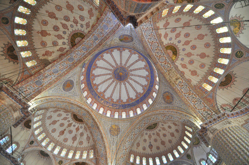 Architecture of the Blue Mosque