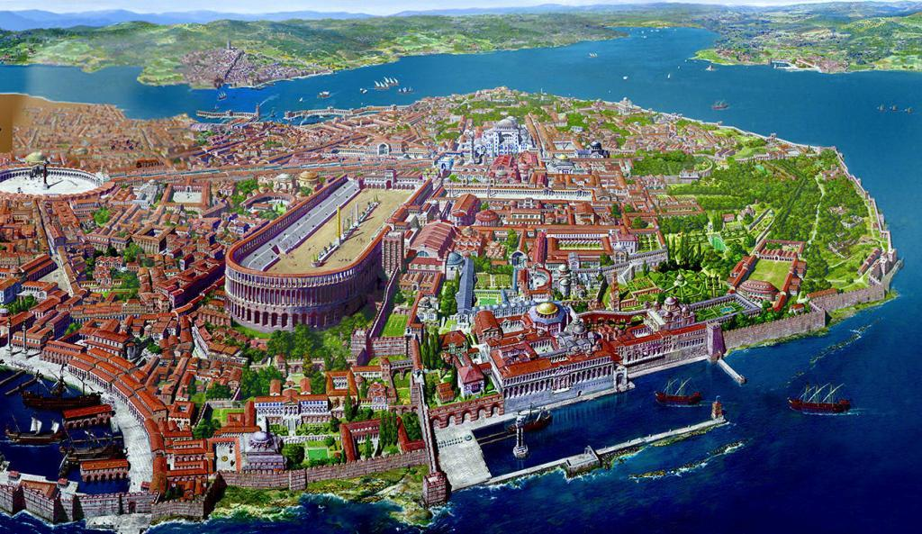 History of Istanbul and Constantinople