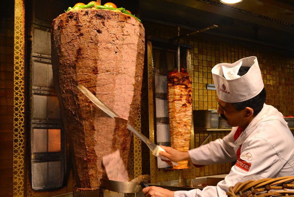 Istanbul Street Food Doner Kebab