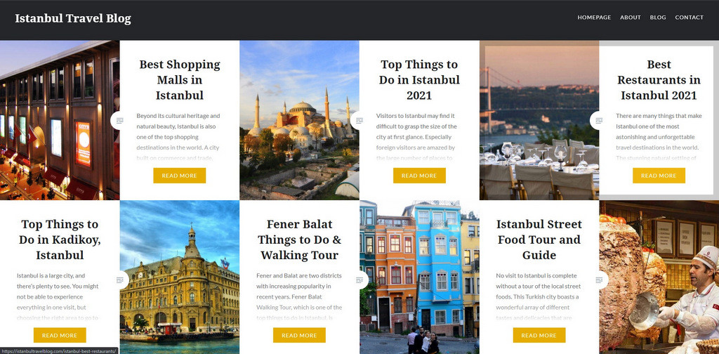 Istanbul Travel Blog and Guide 2021